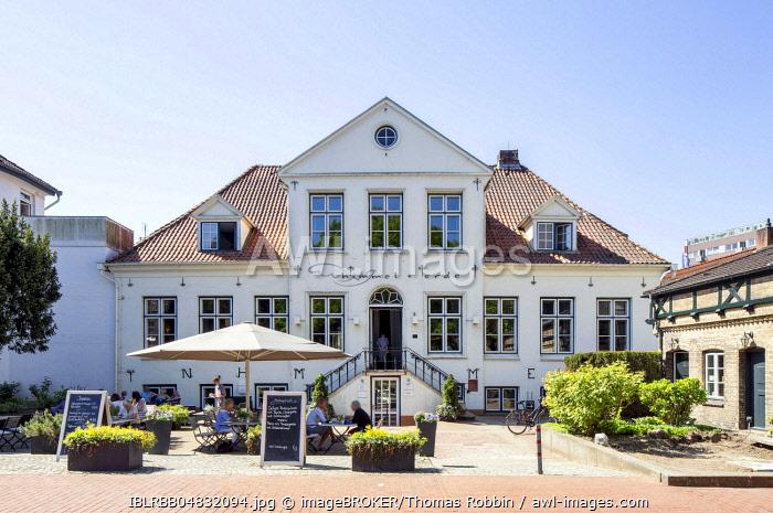 House Masius, historical city palace, Itzehoe, Schleswig-Holstein, Germany, Europe