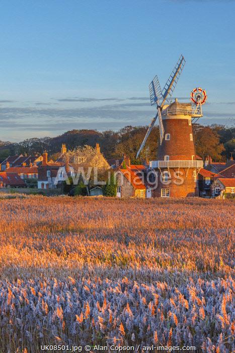UK, England, East Anglia, Norfolk, Cley, Cley Windmill