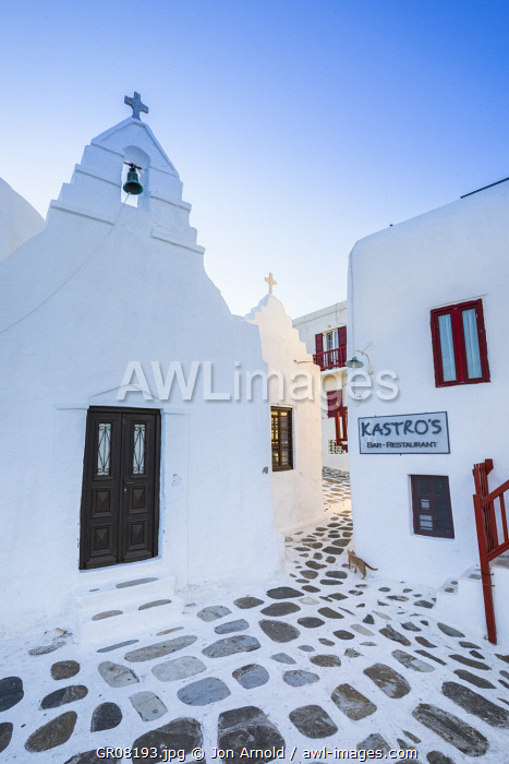 Paraportiani Orthodox Church, Mykonos Town, Mykonos, Cyclade Islands, Greece