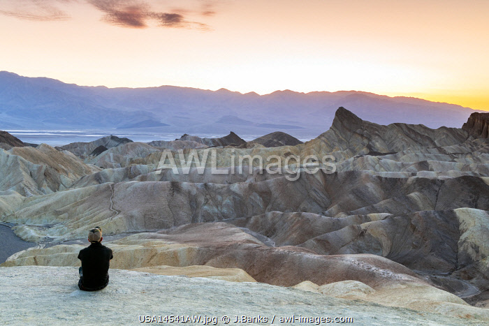 awl-images.com - USA / Zabriskie Point, Death Valley National Park, California, USA