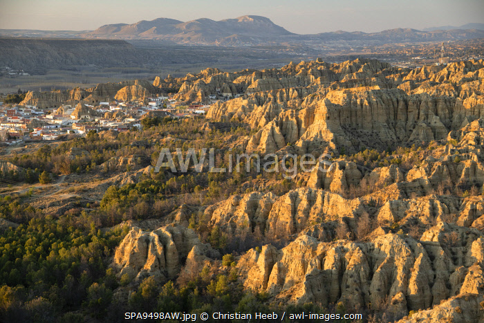 awl-images.com - Spain / Spain, Andalusia, Purullena, Badlands
