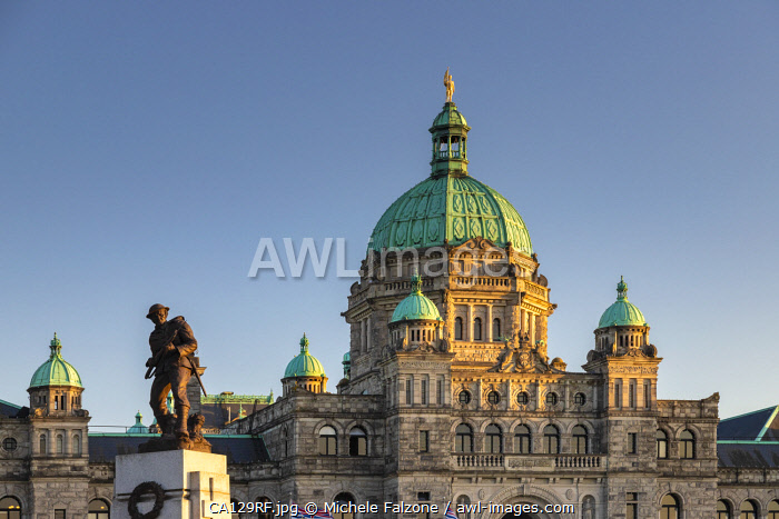 Canada, British Columbia, Victoria, The Parliament