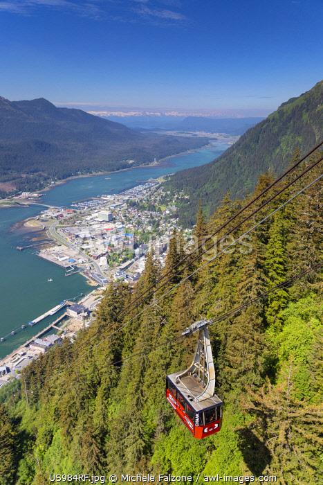 USA, Alaska, Juneau, Mount Roberts Tramway