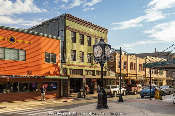 USA, Alaska, Juneau, Old Town