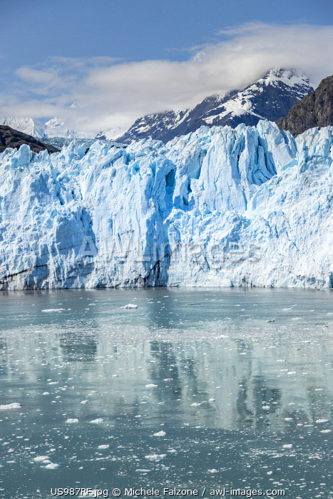USA, Alaska, Tarr Inlet, Glacier Bay National Park and Preserve, Margerie Glacier