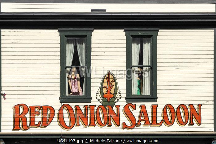 USA, Alaska, Skagway, old town