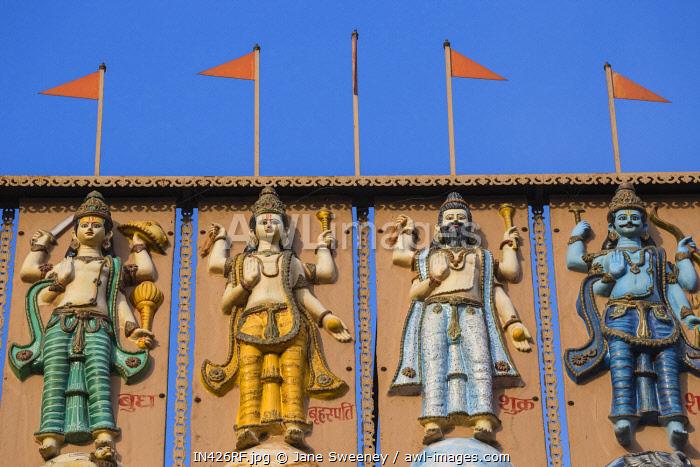 India, Uttar Pradesh, Varanasi, Dashashwamedh Ghat, Shri Ram Temple