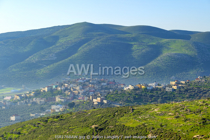 awl-images.com - Palestine / View of Sanur, Jenin Governorate, West Bank, Palestine.