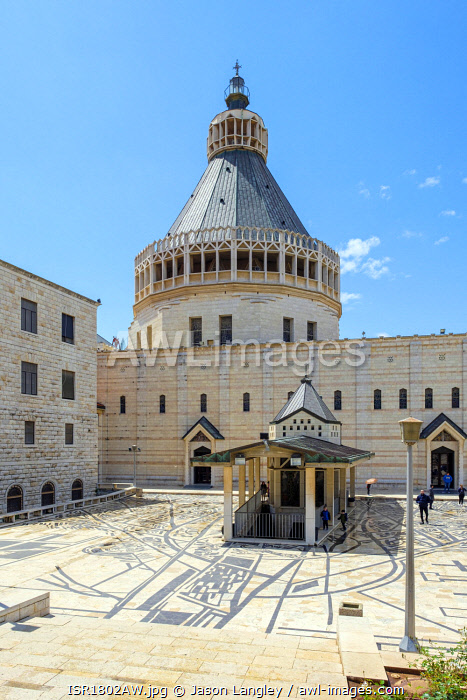 awl-images.com - Israel / Basilica of the Annunciation, Nazareth, North District, Israel.