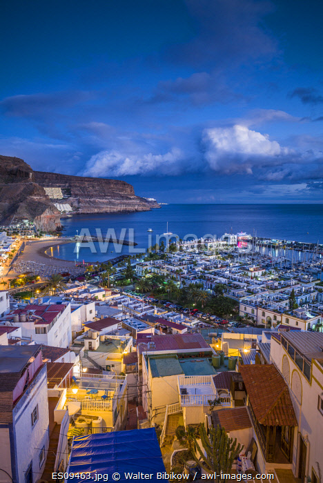 awl-images.com - Spain / Spain, Canary Islands, Gran Canaria Island, Puerto de Mogan