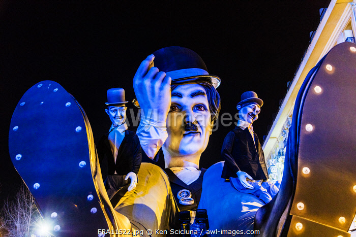 awl-images.com - France / France. French Riviera. Nice. The Carnival of Nice.