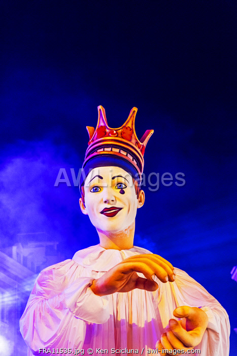 awl-images.com - France / France. French Riviera. Nice. The King of Carnival at the Carnival of Nice.
