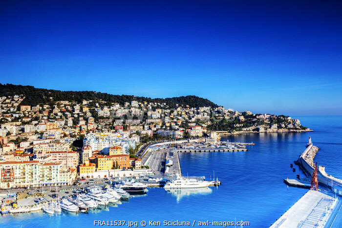 awl-images.com - France / France. French Riviera. Nice Harbour