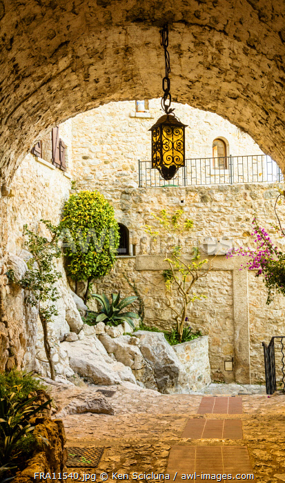 awl-images.com - France / France. French Riviera. Eze. Eze Old Village.