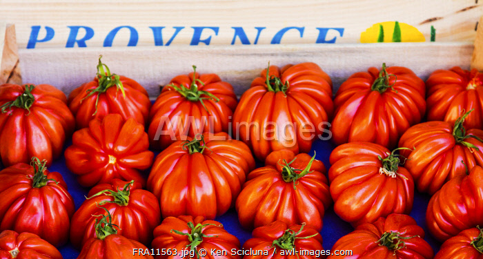 awl-images.com - France / France. French Riviera. Nice. Provencal products, tomatoes.