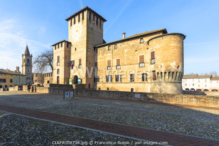 awl-images.com - Italy / Sanvitale Castle, Fontanellato village, Parma district, Emilia Romagna, Italy