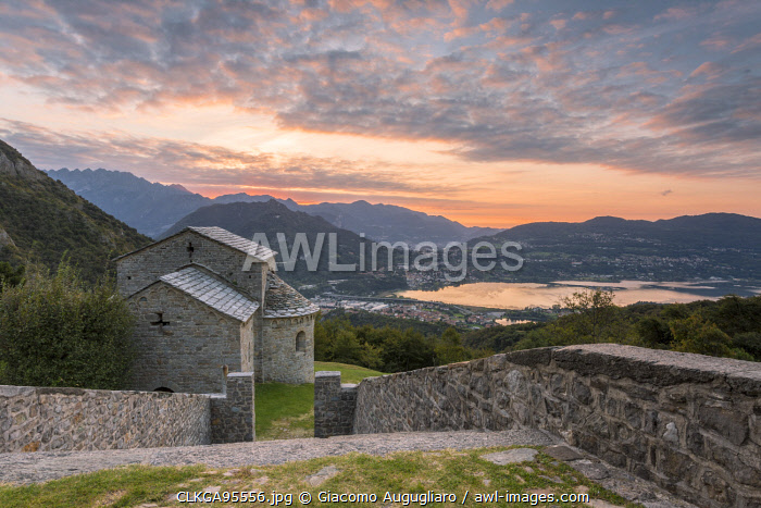 awl-images.com - Italy / The abbey of San Pietro al Monte, an ancient monastic complex of Romanesque style in the town of Civate, Lecco province, Lombardy, italy