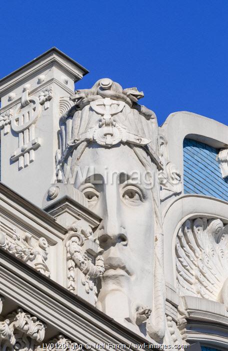Art Nouveau Architecture, Riga, Latvia