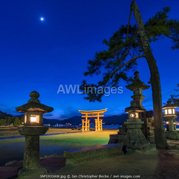 The Great Torii of Miyajima, Japan