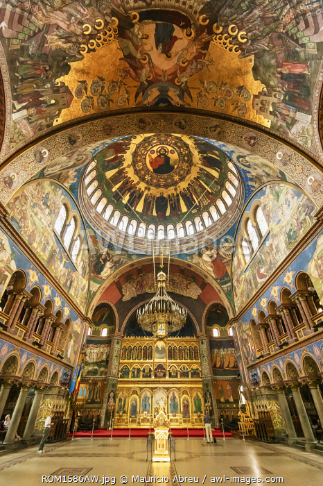 Holy Trinity Orthodox Cathedral (Catedrala Sfanta Treime). Sibiu, Transylvania. Romania