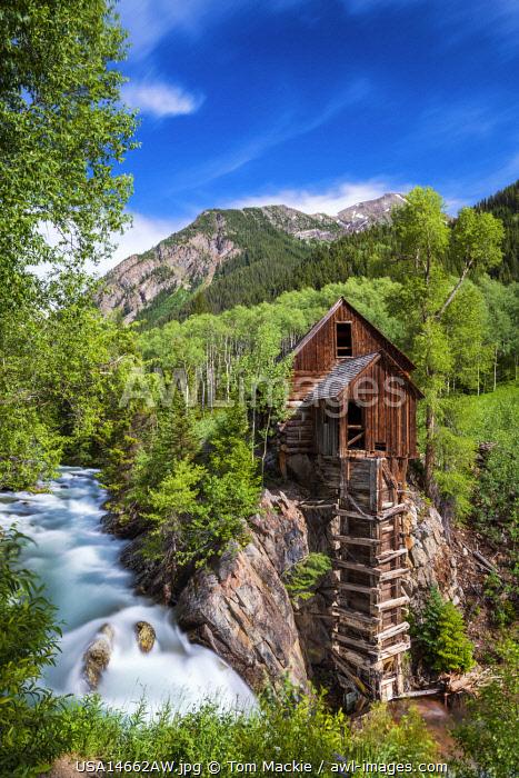 Crystal Mill, Crystal, Colorado, USA
