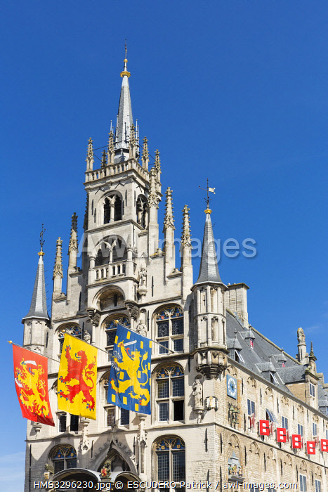 awl-images.com - Netherlands / Netherlands, Southern Holland province, Gouda, Stadhuis city hall