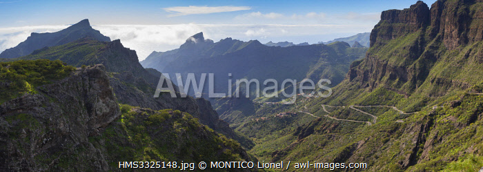 awl-images.com - Spain / Spain, Canary Islands, Tenerife island, Masca village