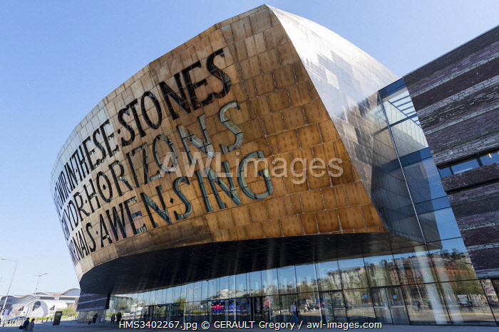 awl-images.com - Wales / United Kingdom, Wales, South Glamorgan, Cardiff, Millennium Centre