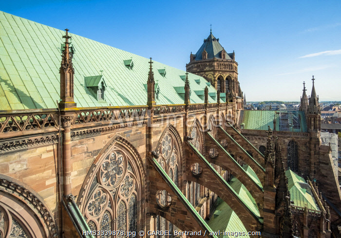 awl-images.com - France / France, Bas Rhin, Strasbourg, old city listed as World Heritage by UNESCO, Notre Dame Cathedral