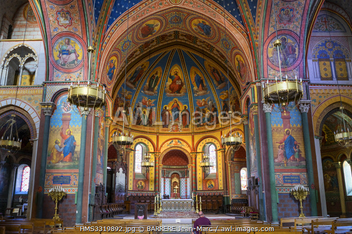 awl-images.com - France / France, Lot et Garonne, Agen, Saint Caprais cathedral