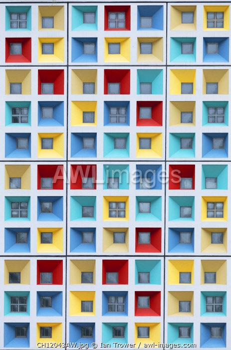 Colourful windows, Hong Kong