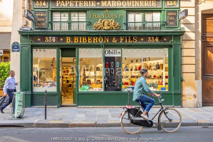 France, Paris, Rue du Faubourg Saint Honore, Biberon et Fils store