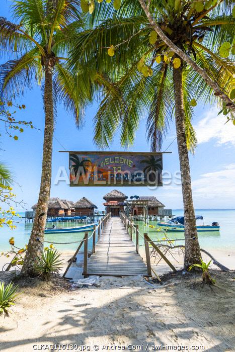 Azul Paradise resort, Bastimentos island, Bocas del Toro province, Panama, Central America (PR)