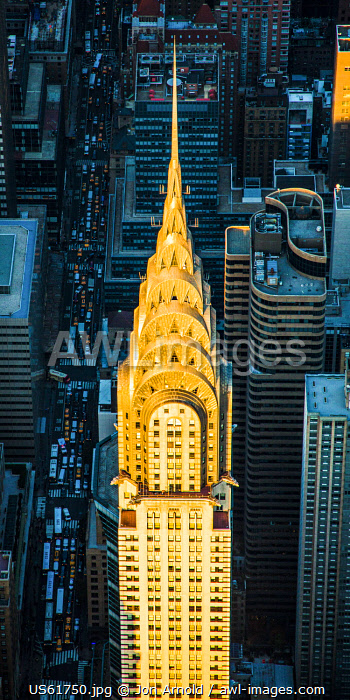 Chrysler Building & Lexington Avenue, Manhattan, New York City, New York, USA