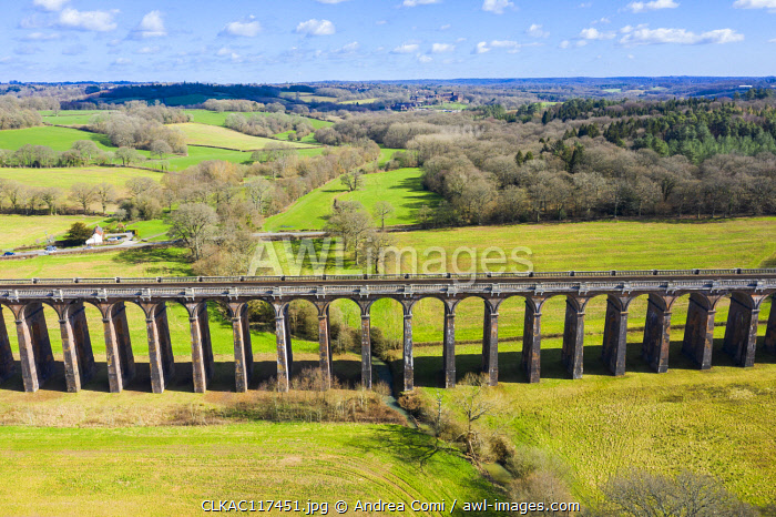 Ouse valley viaduct (Balcombe viaduct), West Sussex, England, UK