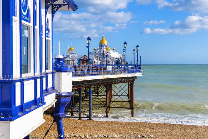 Eastbourne pier, Eastbourne, East Sussex, England, UK