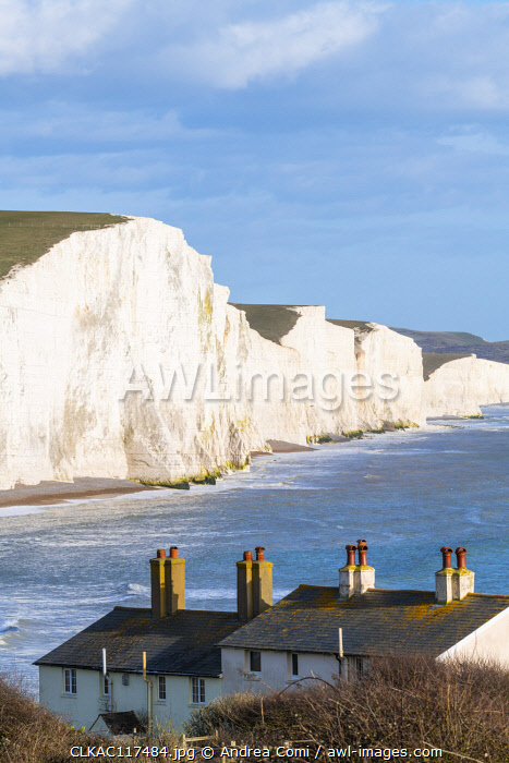 The Seven Sisters, Seaford, East Sussex, England, UK