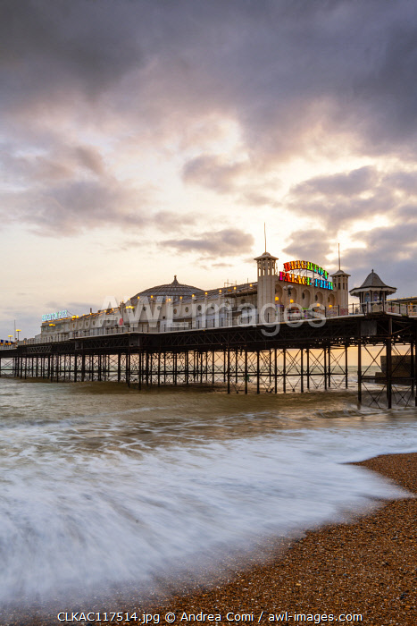 Palace pier, Brighton, East Sussex, England, UK