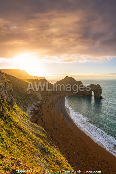 Durdle Door, Jurassic coast, Dorset, England, UK