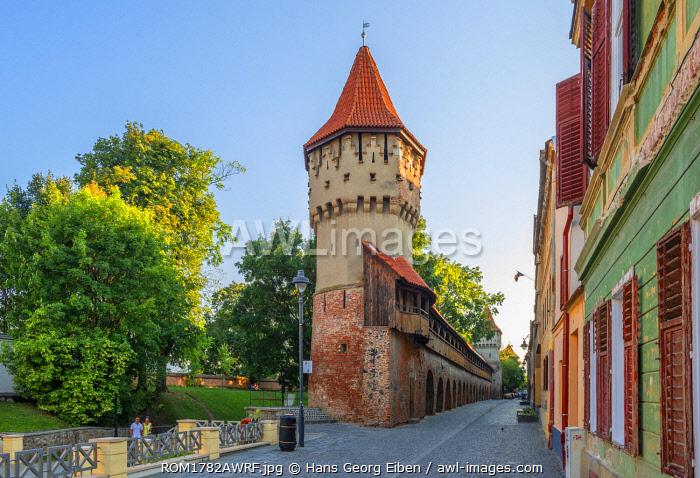 Turnul Dulgherilor, Carpenters tower, Sibiu, Transylvania, Romania