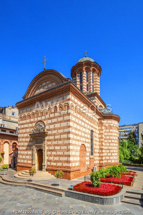 St. Antony Old Princely Church, Bucharest, Walachia, Romania