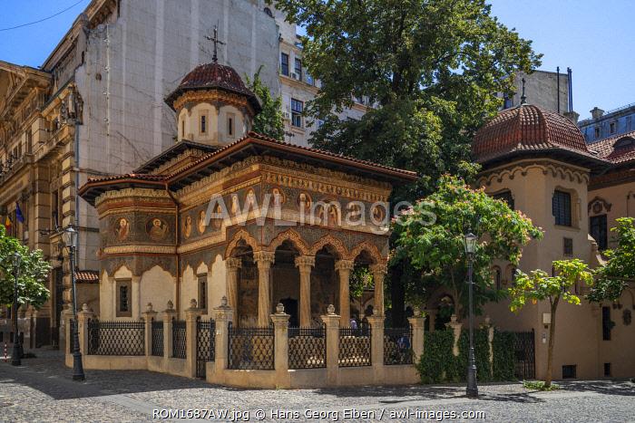 Stavropoleos monastery, Bucharest, Walachia, Romania