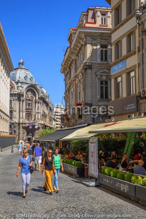 Restaurants at Lipscani quarter, Bucharest, Walachia, Romania