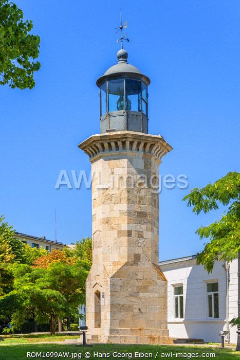 Historical lighthouse, Constanta, Dobrudscha, Romania