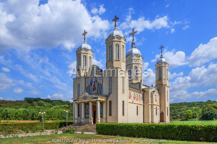 Monastery of St. Andrew near Adamclisi, Dobrudscha, Romania