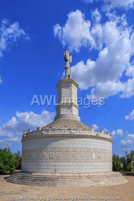 Victory monument Tropaeum Traiani, Adamclisi, Dobrudscha, Romania