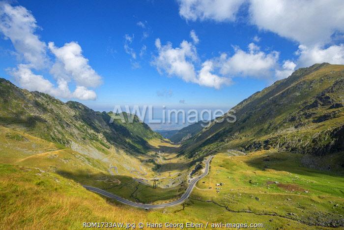 Transfagarasan road, Transylvania, Romania