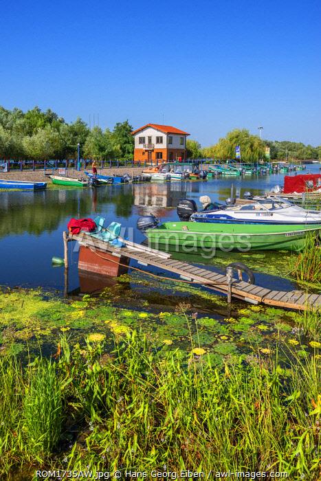 Harbour of Saint George, Danube Delta, Dobrudscha, Romania