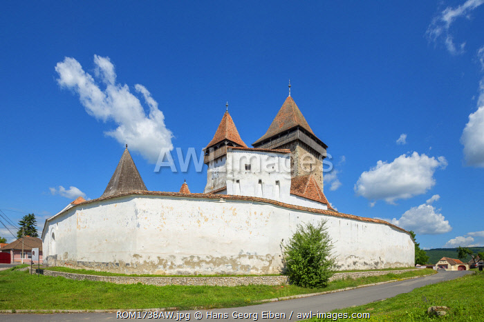 Fortified church of Homorod, Transylvania, Romania
