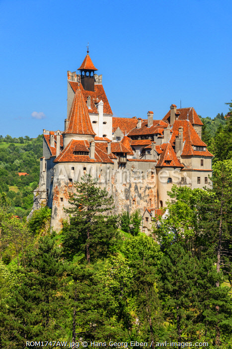 Castle Bran, Draculas castle, Bran, Transylvania, Romania